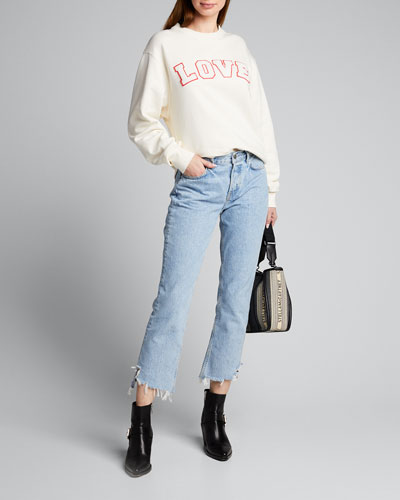 French Terry Love Sweatshirt
