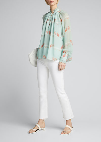 Monica Rose Silk Top