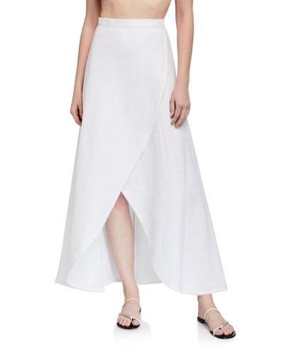 Ballerina Linen Coverup Skirt
