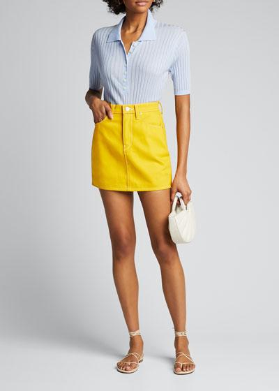 Viper Mini Skirt
