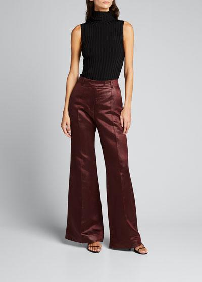 Tana Chintz Flared Trousers