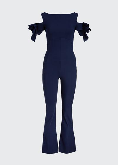 Cold-Shoulder Jumpsuit