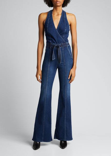 Image 1 of 1: The Halter Doozy Jumpsuit
