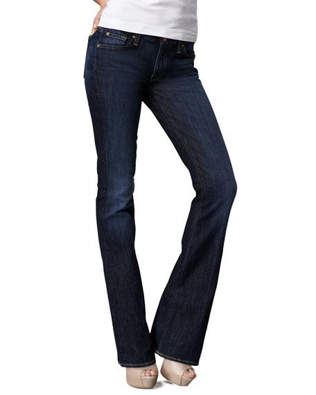 Kimmie Midnight NY Dark Curvy Boot-Cut Jeans