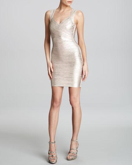 Shimmer Bandage Dress