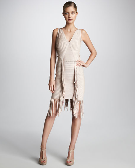 Fringe Bandage Dress