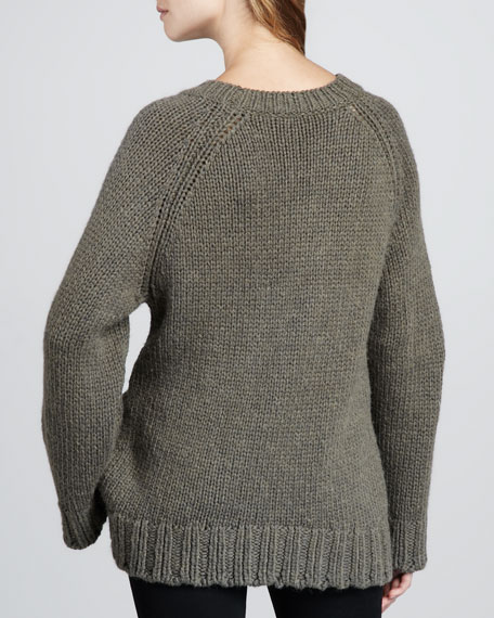 Knopy Loose Sweater
