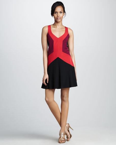 Ullman Colorblock Dress