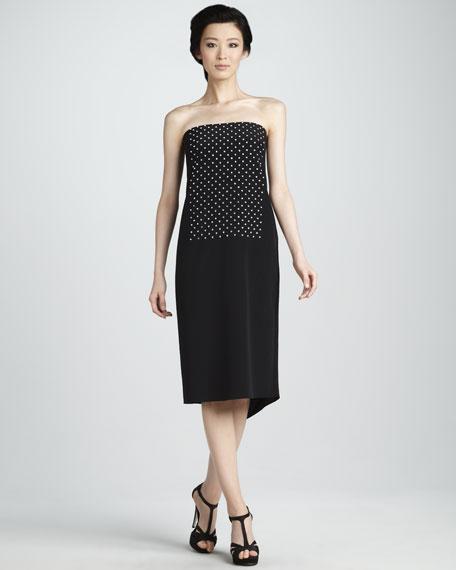 Strapless Studded Dress