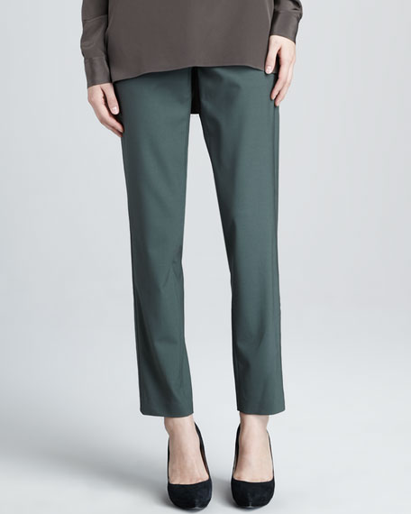 Side-Strap Trousers