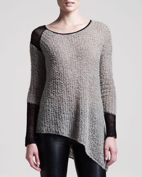 Flecked Boucle Sweater