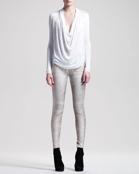 Crystalline Skinny Jeans