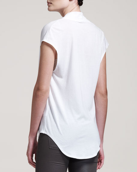 Feather Jersey Tee