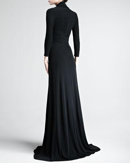 Matte Jersey Gown