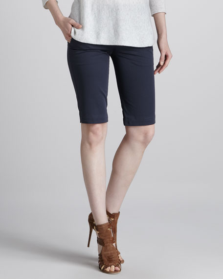 Twill Bermuda Shorts, Military