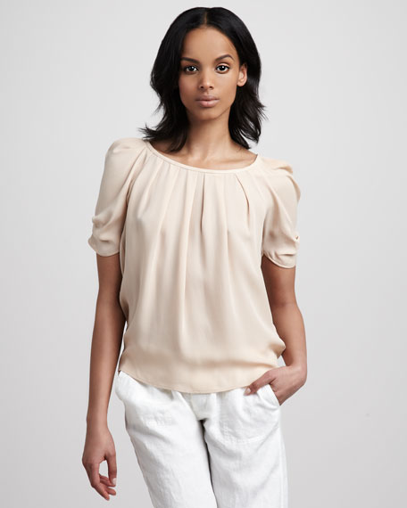 Eleanor Boat-Neck Top