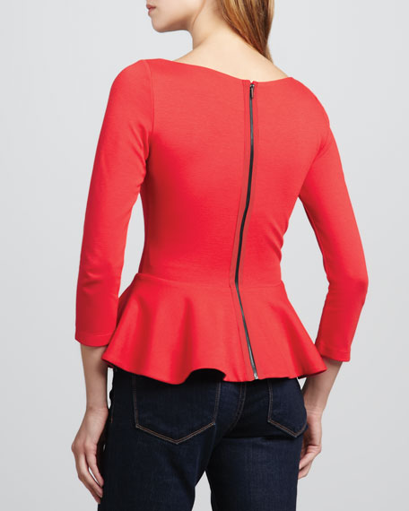 Regina Peplum Top