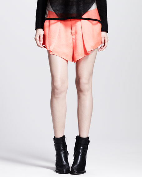Chroma Draped Shorts