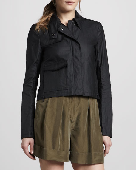 Monrovia Faux-Leather Jacket
