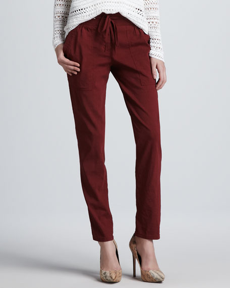 Relaxed Drawstring Pants