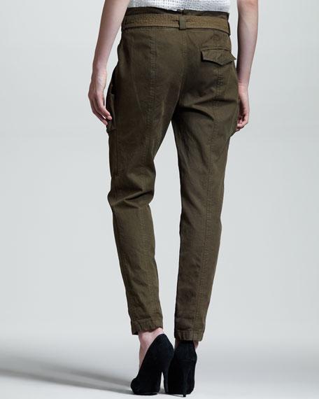Randall Slim Belted Pants