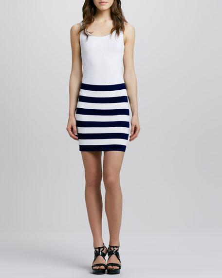 Kendine Navy Skirt