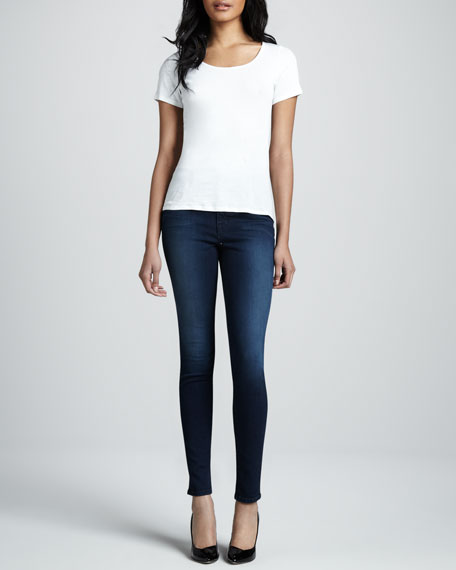 Maria Avalon High-Rise Skinny Jeans