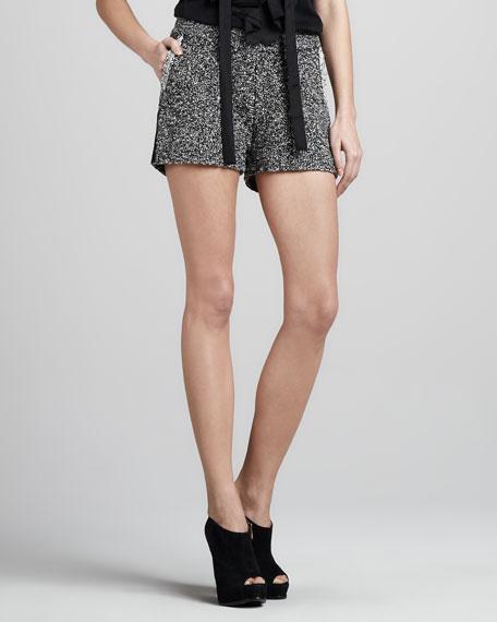 Boucle Shorts