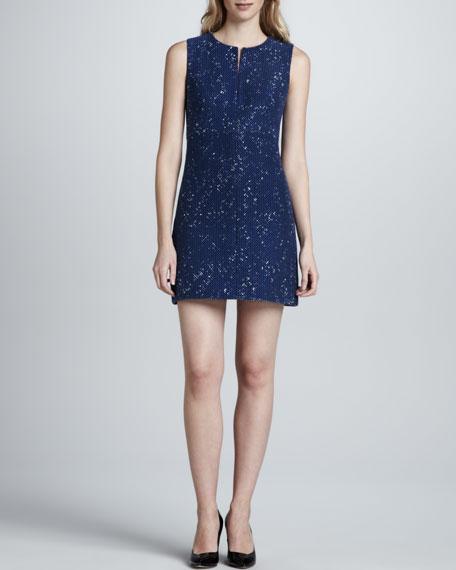 Yvette Painted Tweed Dress