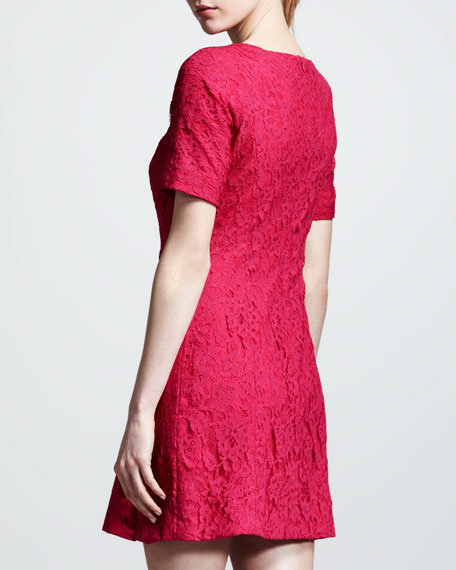 Sofia Floral-Lace Dress