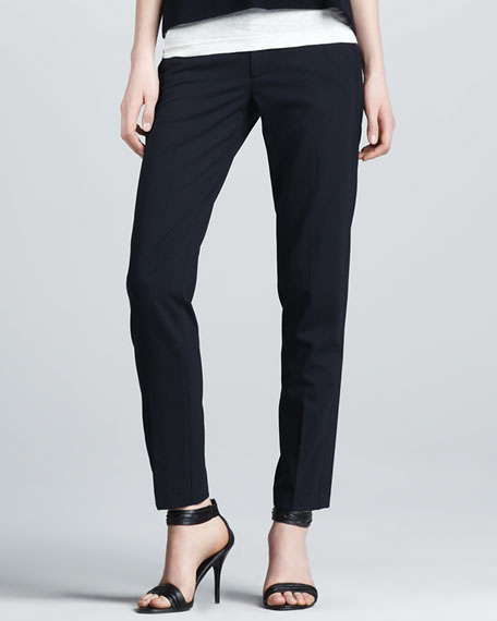 Relaxed Crepe Pants