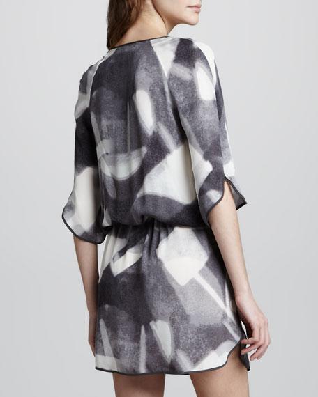 Reflection Tie-Waist Dress