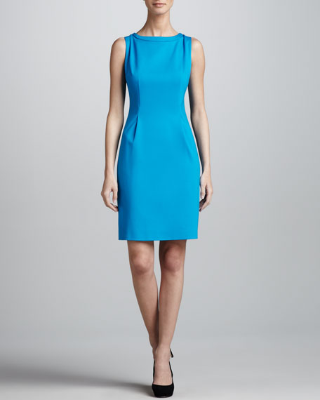 Holly Zip-Back Sheath Dress