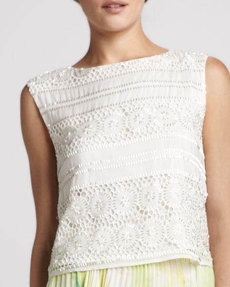 Vera Crochet Crop Top