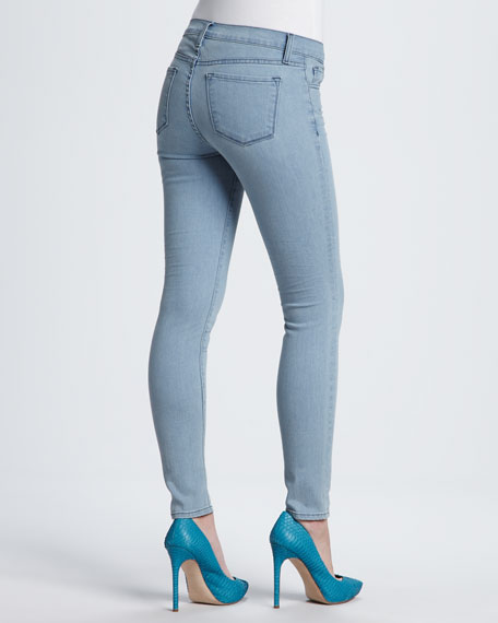 811 Mid-Rise Skinny Leg Cropped Jeans