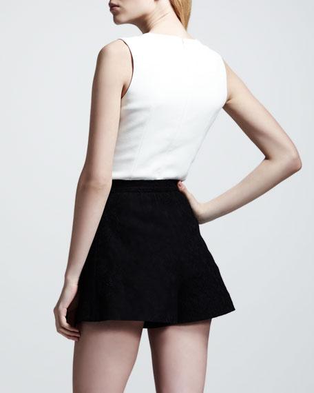 Lace Culotte Shorts