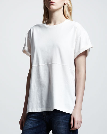 Basic Tee, Off White