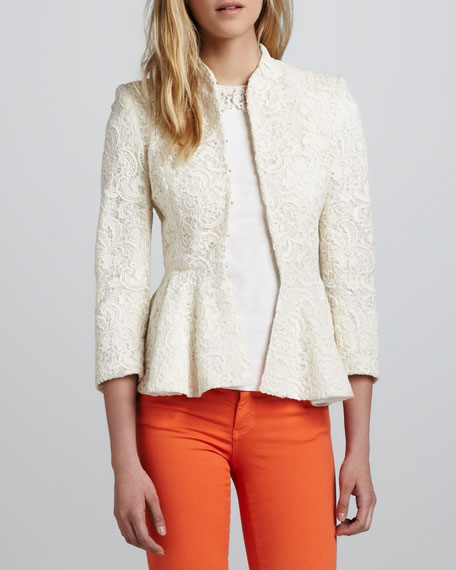 Polly Lace Peplum Jacket