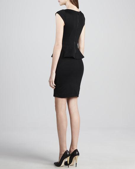 Victoria Knit Peplum Dress