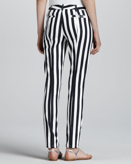 Taverna Panorama Slim Striped Pants