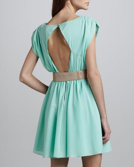 Coby Stretch-Silk Dress