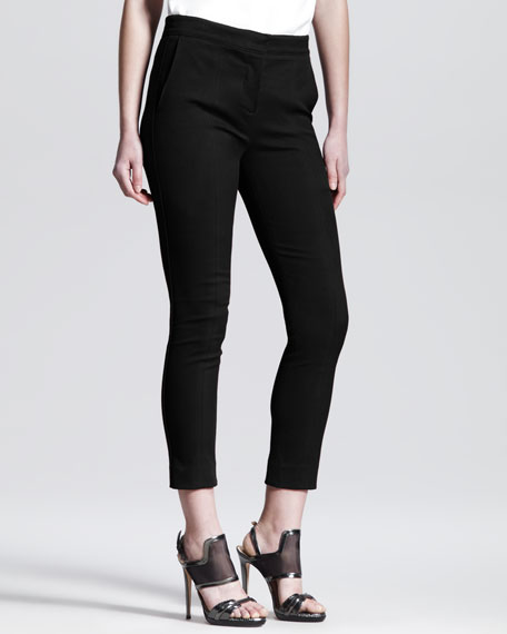 Cropped Skinny Pants