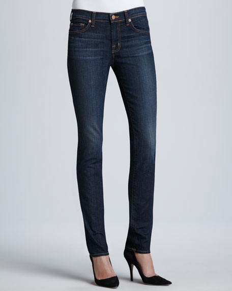 8112 Rail Dark Vintage Mid-Rise Skinny Jeans