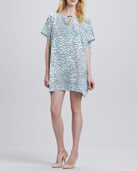 Beonica Leopard-Print Dress