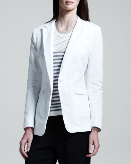 42nd Street Mesh-Back Blazer