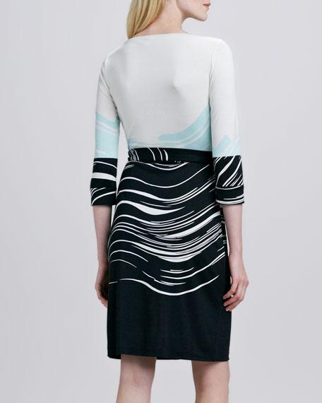 New Julian Two Printed Wrap Dress