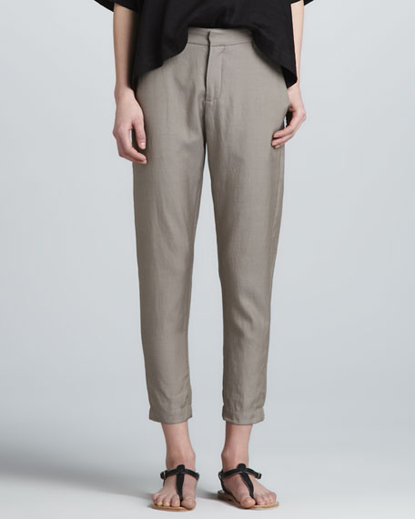 Relaxed Tapered Trousers
