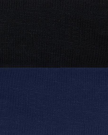 V-Neck Knit Sweater