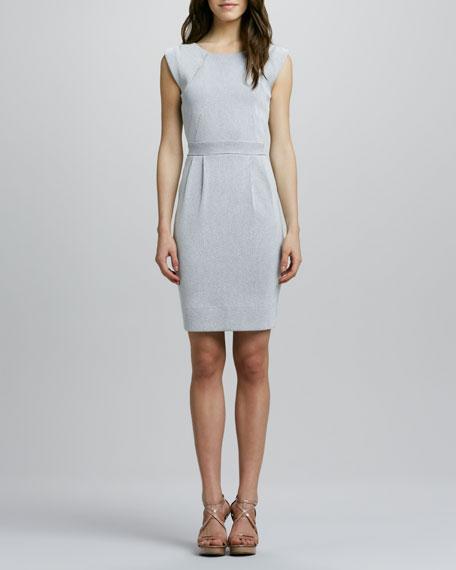 Striped Seersucker Dress