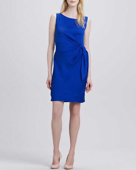New Della Stretch Georgette Dress